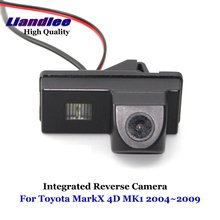 Liandlee For Toyota MarkX 4D MK1 2004~2009 Car Reverse Parking Camera Backup Rear View Camera / SONY HD CCD Integrated new high quality rear view backup camera parking assist camera for toyota 86790 42030 8679042030
