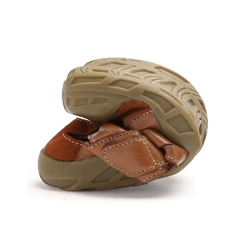 Genuine Leather Children Shoes Boys Sandals 2018 Summer High Quality Soft Fashion Closed Toe Kids Shoes for Boys Beach Shoes