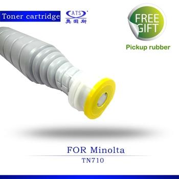 1PCS 1000G Toner Photocopy Machine Toner Cartridge for Minolta Compatible TN710 Bizhub 600 601 750 751 copier spare parts