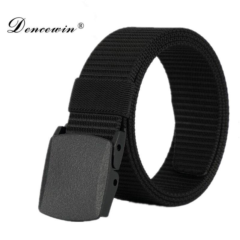 High Quality Automatic Buckle Nylon Belt Male Army Tactical Belt Jeans Mens Luxury Waist Designer Belts Men Strap Ceinture Femme
