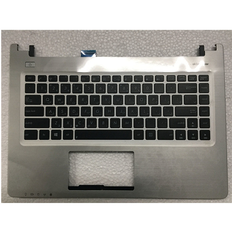 <font><b>keyboard</b></font> For DELL Inspiron 15 7560 15-7000 7460 7000 C shell <font><b>keyboard</b></font> with touchpad image