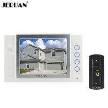JERUAN 8 дюймов видео-телефон двери дверной звонок домофон домофона записи и принимать фото видео домофона дождь крышка