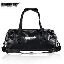 Rhinowalk Bicycle Bag Large Capacity Waterproof Cycling Saddle Bag MTB Road Bike Rear Rack Trunk Bag Luggage Storage Travel Bag цена