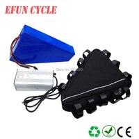 Для трекинга велосипед/горный велосипед 60 В 25.6ah Электрический аккумулятор литий ионный 60 В высокого напряжения большой треугольник батаре