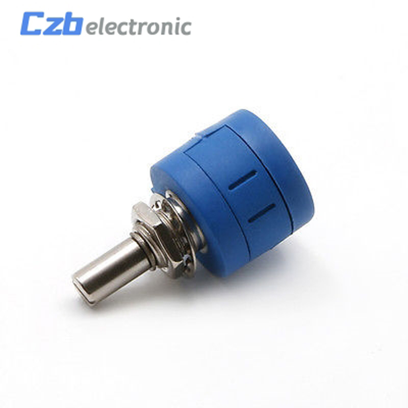2PCS 3590S-2-503L 50K Ohm Rotary Wirewound Precision Potentiometer Pot 10 Turn