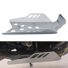 Motorcycle Sliver Engine Sump Guard Bash Skid Plate For BMW R1200GS 1200 GS Adventure 2013-2018 2017 Aluminum