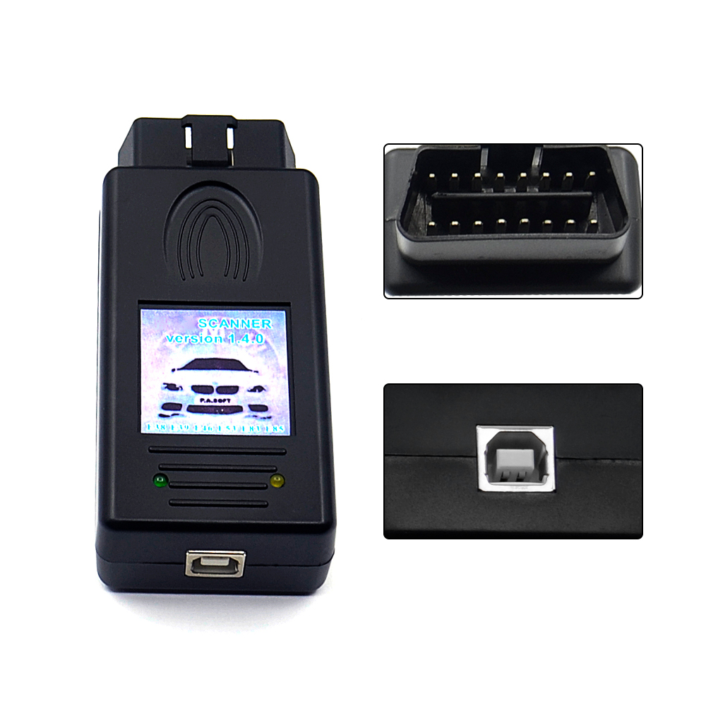 HTB1vrGgoyQnBKNjSZFmq6AApVXaz For BMW SCANNER 1.4.0 Diagnostic Scanner OBD2 Code Reader For BMW 1.4 USB Diagnostic Interface Unlock Version A++ Chip