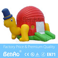 U001 inflable tortuga/tortuga gorila/castillo inflable salto casa/casa Gorila castillo inflable cama de salto de trampolín