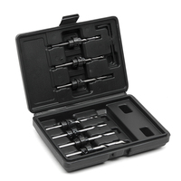 7PCS Carpentry Countersink Drill Bit Set 5 6 7 8 9 10 And 12 With Black