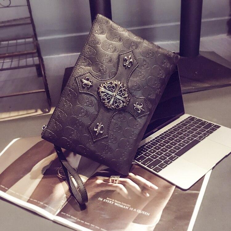 Skull Clutch Handbag