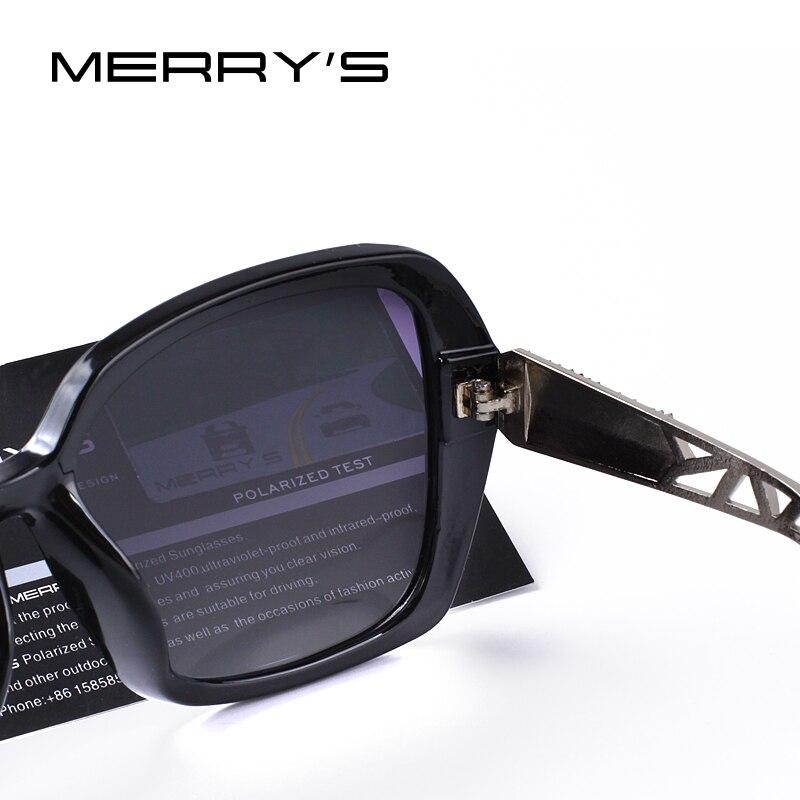 MERRYS DESIGN Women Classic Polarized Sunglasses UV400 Protection S6130