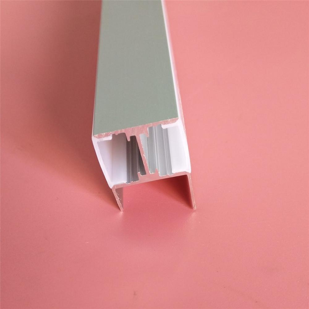 Livraison gratuite anodisé v-fendu Extrusion T voie canal 6000 profilés en alliage d'aluminium extrudé en Aluminium profil spécial