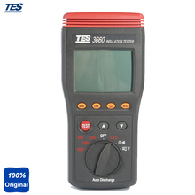 Buy online TES-3660 Insulation Testing with Automatically Switch to Voltage Measurement Autoranging Insulation Tester