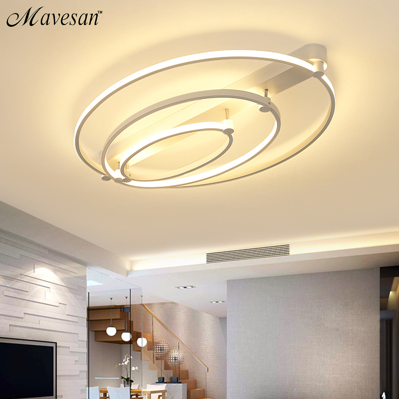 купить Modern Led Ceiling Lights Remote Control Dimming For Living Room Bedroom Luminaria Ceiling Lamp Home Lighting Lamparas De Techo по цене 8114.82 рублей
