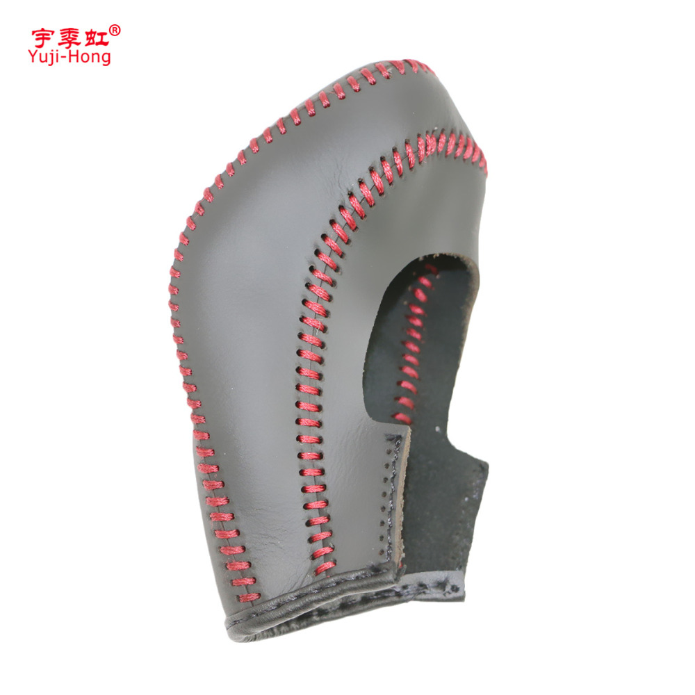 Yuji-Hong автоматическая коробка передач автомобиля чехлы Чехол для Buick Excelle GT/XT Regal авто Сдвиг ошейники из натуральной кожи ручной работы
