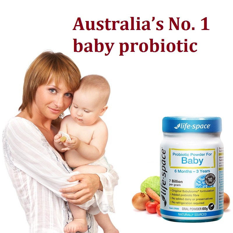 Australia Life Space Probiotic Powder for Baby 6 months-3years Beneficial Bacteria Support Healthy Immune Digestive System
