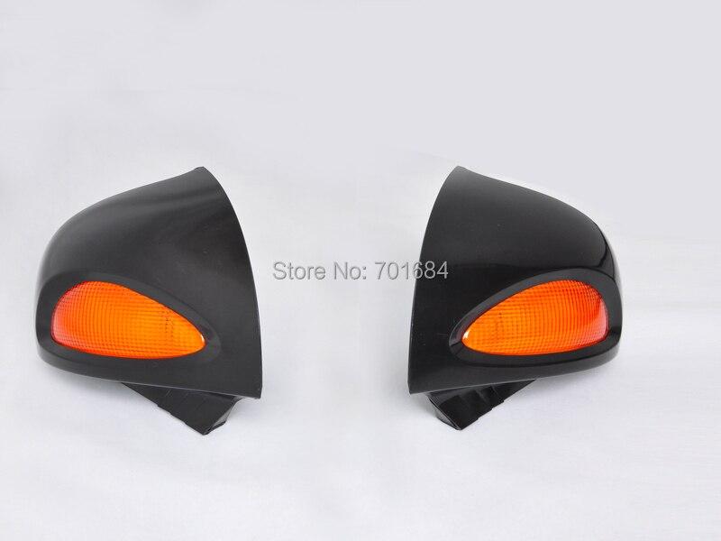 1 paire rétroviseurs clignotants lentille pour BMW R 1150RT 2001-2004 2002 2003 04 [HL21]