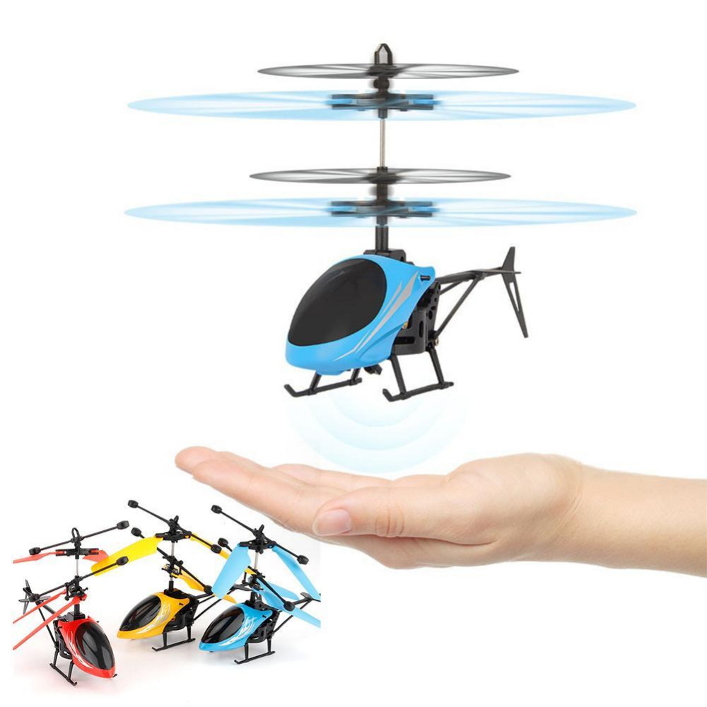 Gestures Induction Control Flying Helicopter Infrared Sensor Aircraft without Remoter Kids Flying Toy Gifts USB Charger