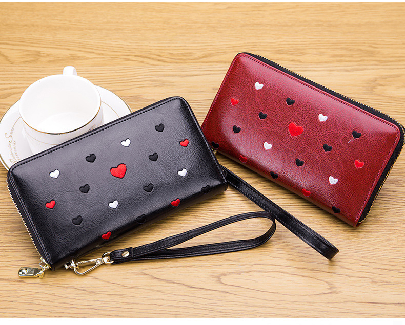 Women genuine leather wallet 11