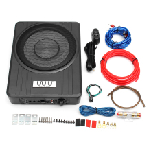 """10 """"600 W coche parlante con Subwoofer activo amplificador de Audio vehículo Subwoofer bajo recinto amplificador Sonido automático coche amplificador de Audio"""