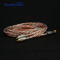 792 Cores MMCX Headphone Cable Handmade 8 Shares Silver Copper Mixed for Shure se215 se535 se846 Earphone Wire