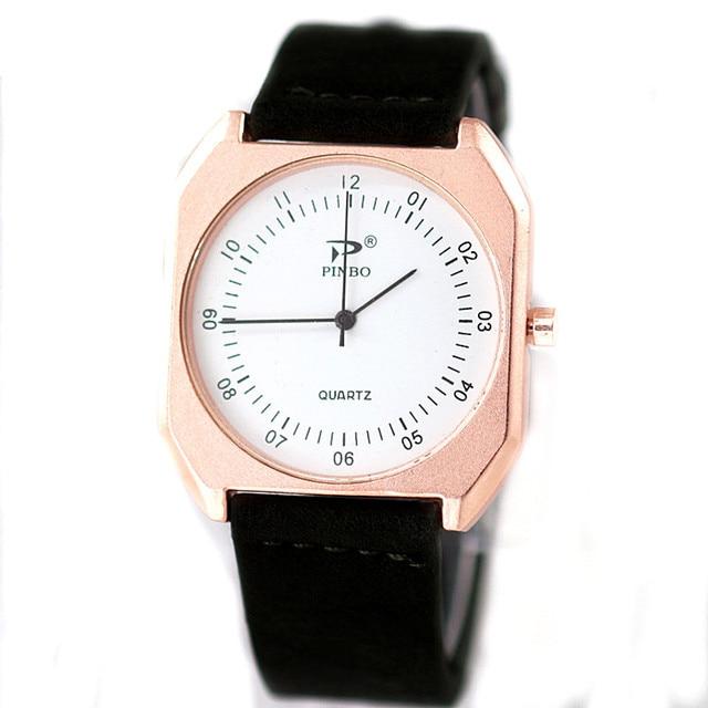 e15c82d0904 Reloj hombre Relógios Homens Nova Marca de Luxo Ultra Fino Completo genuíno  Relógio de Couro Masculino