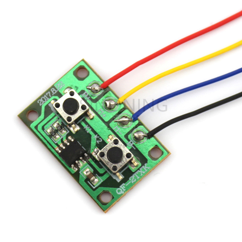 Two Ways Electronic Version Of Two-channel Wired Remote Control Board Controllable One Motor Forward And Reverse #1