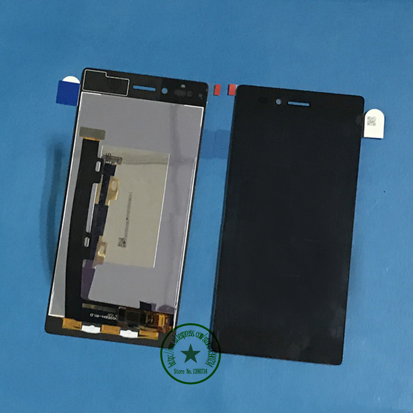 High quality Test work lcd display touch screen digitizer assembly for Lenovo VIBE Shot MAX Z90 z90a40 z90-7 Mobile Parts аксессуар чехол lenovo z90 vibe shot z90a40 zibelino soft matte zsm len vib shot