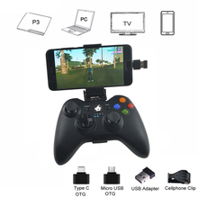 Android Wireless Controller For PS3 Console Phone PC TV Box Joystick 2 4G Joypad Game Controller