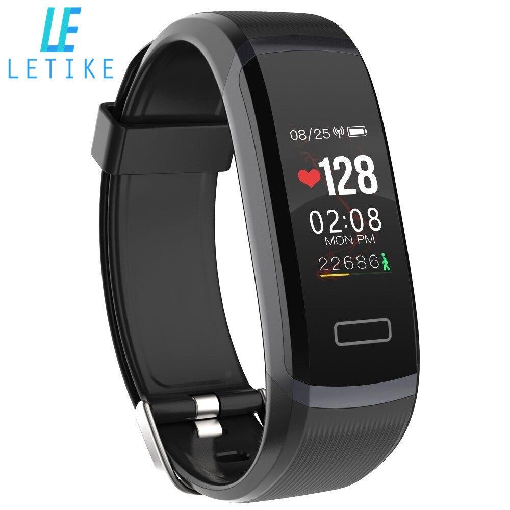 Banda inteligente 0,96 pantalla Color pulsera inteligente en tiempo Real Monitor de ritmo cardíaco Smart watch impermeable Fitness Tracker con cronómetro
