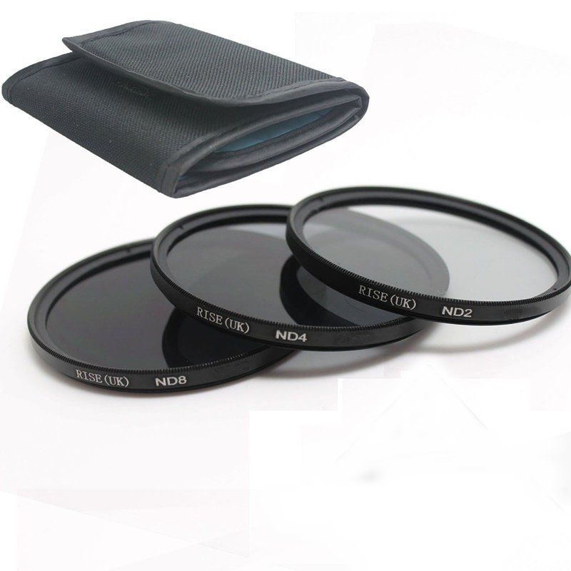 58MM RISE (UK) UV CPL ND 2 4 8 Filter Kit til Canon Rebel T6i T6s T5i - Kamera og foto - Foto 3