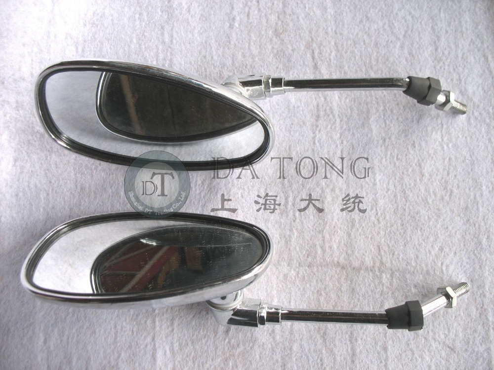 1pair lot high quality scooter mirror set set 8mm lh for Mirror quality
