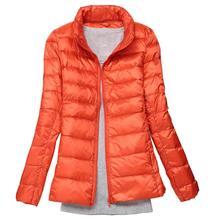 2019 Autumn Jacket Women Winter Duck Coats Feather Coat Down Basic