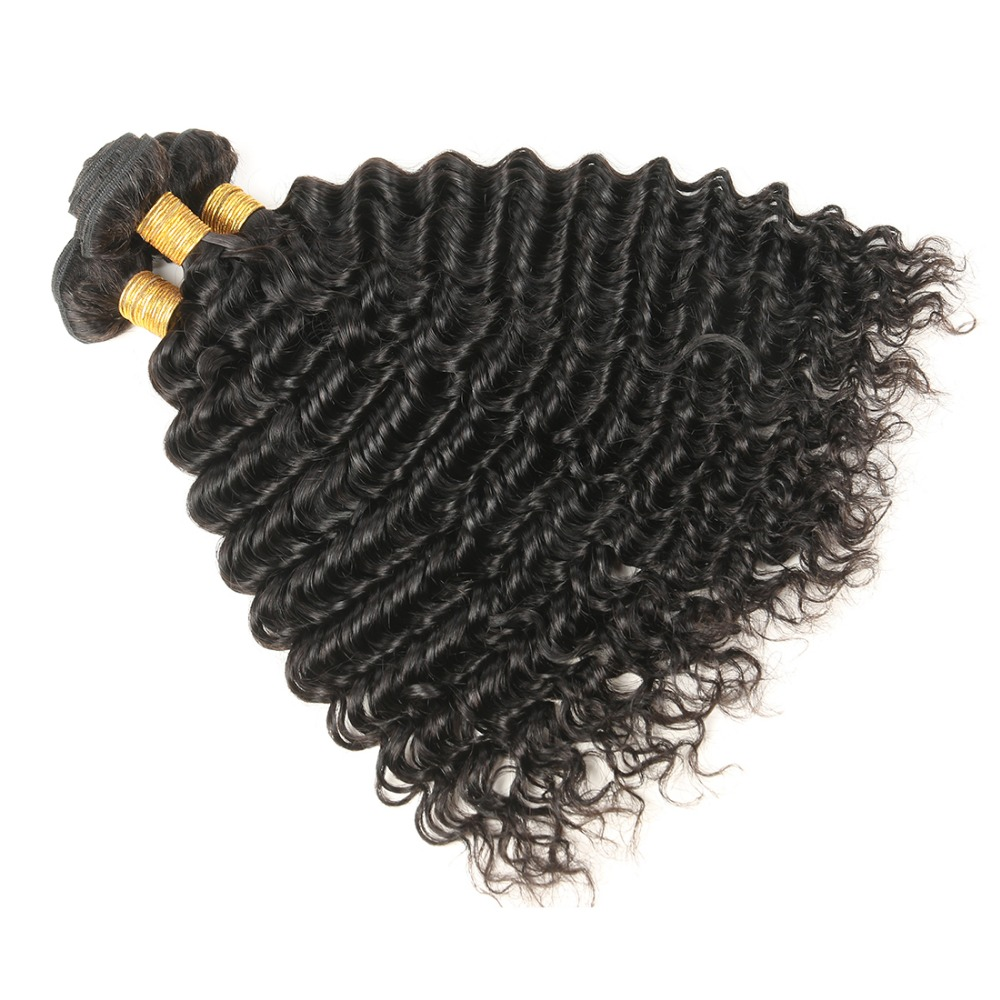 Brazília hajszövött kötegek Göndör hajszálak Göndör emberi hajhosszabbítások Remy hajcsomagolások nőknek 1/3/4 db 8-30 hüvelyk