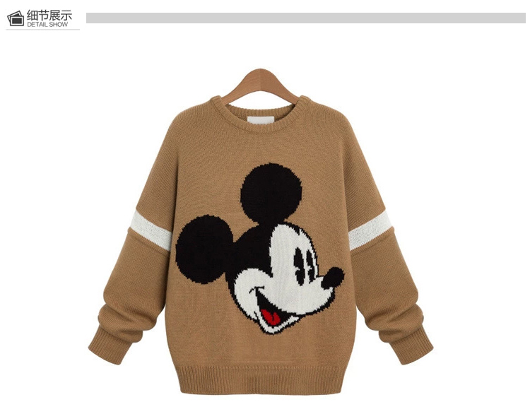 HTB1vrLfSXXXXXXxaXXXq6xXFXXX2 - Pullover 2019 Autumn Winter Women's o-Neck Sweater Women Loose Pullover Casual Sweater Cute Comfort Knitted Sweaters Drop Ship