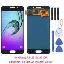 עבור סמסונג גלקסי A3 (2016), A310F, A310F/DS, A310M, תצוגת LCD מסך מודול עבור Samsung SM-A300F A300FU A3000 A3009 תצוגה