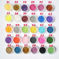30Pcs/set 2016 New Beauty 30 Mixed Colors Eye Shadow Powder Make Up Pigment Glitter Mineral Spangle Eyeshadow Cosmetic Maquiagem