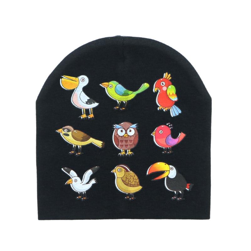 Sunlikeyou Unisex Toddler Winter Baby Hat Girl Boy Beanie Kids Cotton Soft Newborn Children Bonnet Cartoon Animal Print Baby Hat in Hats Caps from Mother Kids