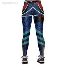 Comic Fitness Cartoon 3D Printed Leggings for Woman