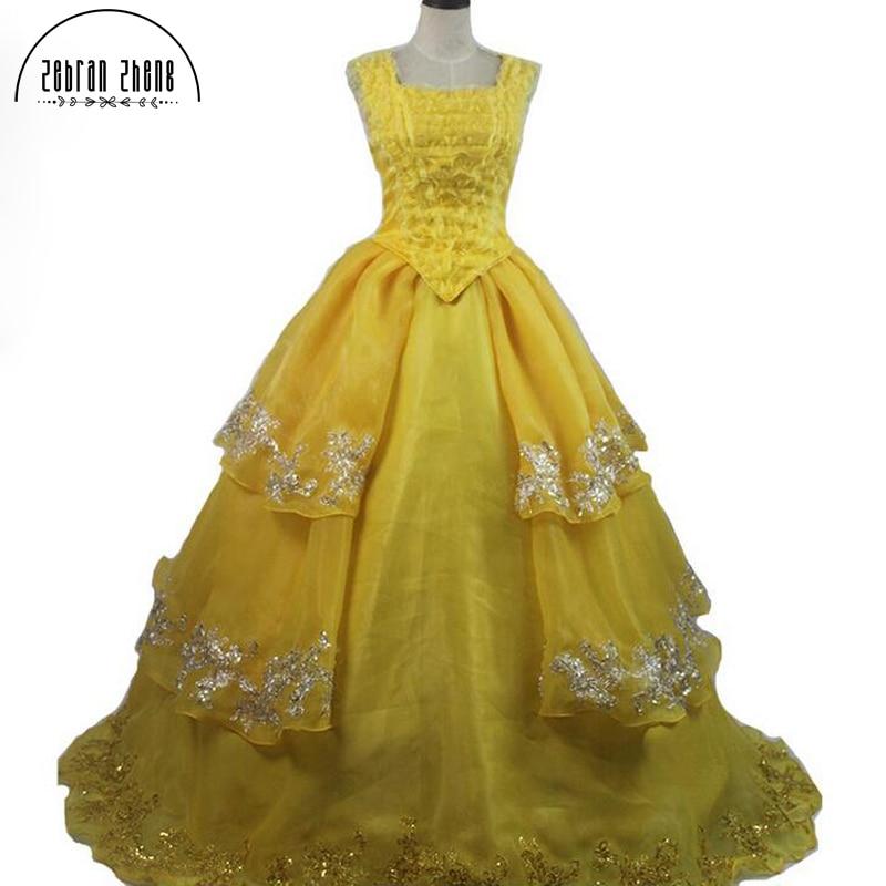 Custom Made New Beauty Film și Belle Belle 1: 1 Costum Cosplay - Costume carnaval