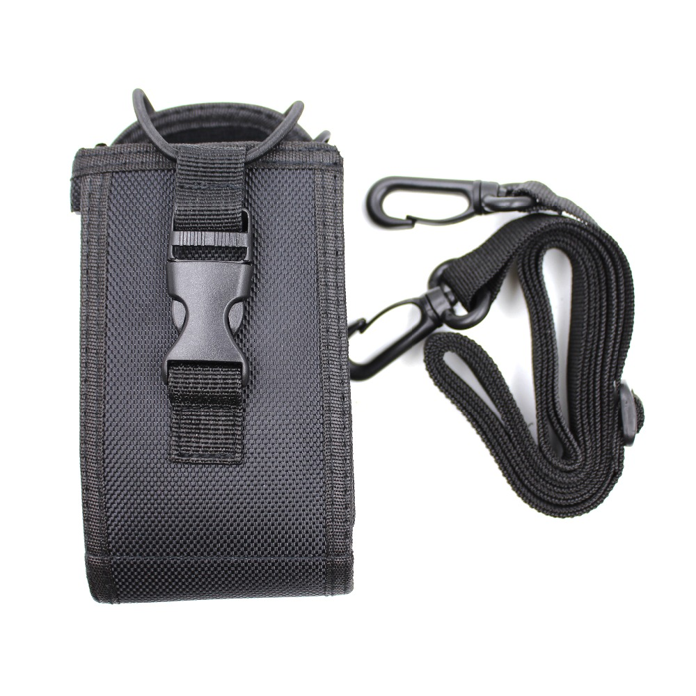 Nylon Bag  With Hold Cable 15*7.6*4cm For Handheld Radios TH-UV8000D MD680 GP328