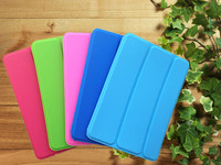 Ultra Slim Cute Kids Full Body Soft Silicone Rubber Stand 3 Fold Magnetic Closure Case Cover