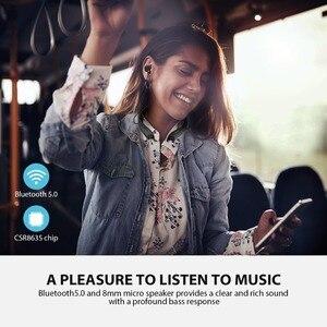 Image 3 - Mpow Jaws Gen 5 spor Bluetooth kulaklıklar 18 saat çalışma süresi V5.0 Bluetooth boyun bandı kulaklıklar gürültü iptal kablosuz kulaklık
