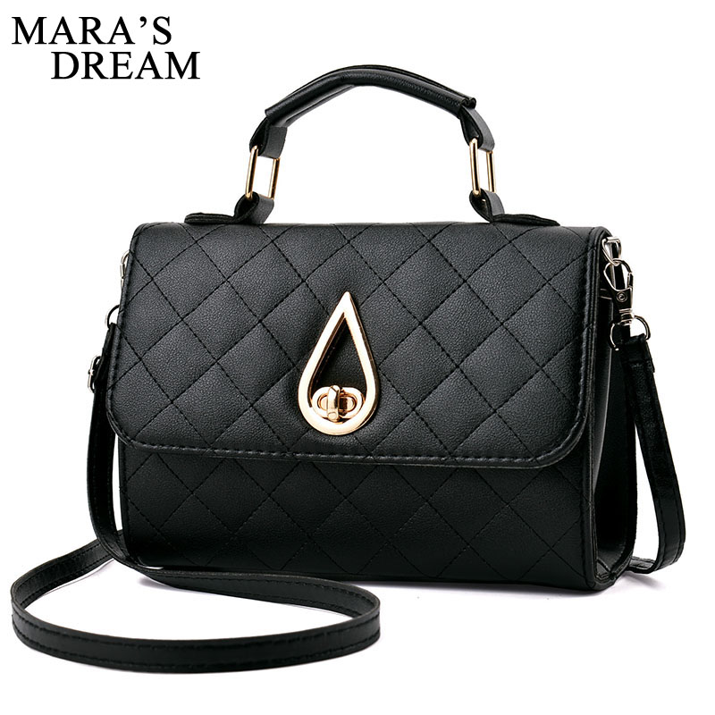 Mara's Dream 2018 Diamond Lattice Women Messenger Bags Brand Designer PU Leather Handbag Shoulder Bag Plaid Women Crossbody Bag women shoulder bag cossbody handbag genuine first layer of cow leather 2017 korean diamond lattice chain women messenger bag