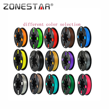 High quality Full color 3D printer filament PLA/ABS 1.75mm plastic Rubber Consumables Material 1KG/Roll