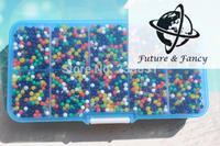 Casamento Bodas y Eventos, Mágica cristalina Del Suelo Del Fango del Agua Perlas Flor planta Para El Regalo De Boda, embalado en Caja, 120 g/caja
