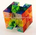 Yong Jun 3x3x3 Velocidad Cubo Cubo Mágico Profesional de Extremo Liso Transparente FreeShipping KTK