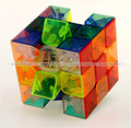 Yong Jun 3x3x3 Velocidade Cubo Mágico cubo Mágico Profissional Transparente Liso Extremo FreeShipping KTK