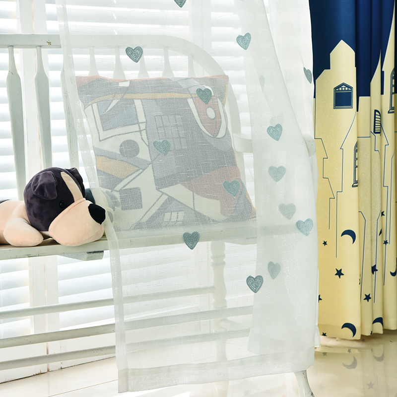 Leuke Kinderen Cartoon Milieu Katoenen Gordijn Jongen Slaapkamer ...