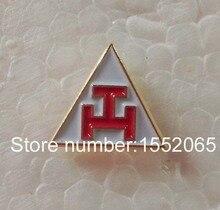 Free shipping 1pcs Small Tie Pin 10mm Masonic Freemasonary lapel pin badge